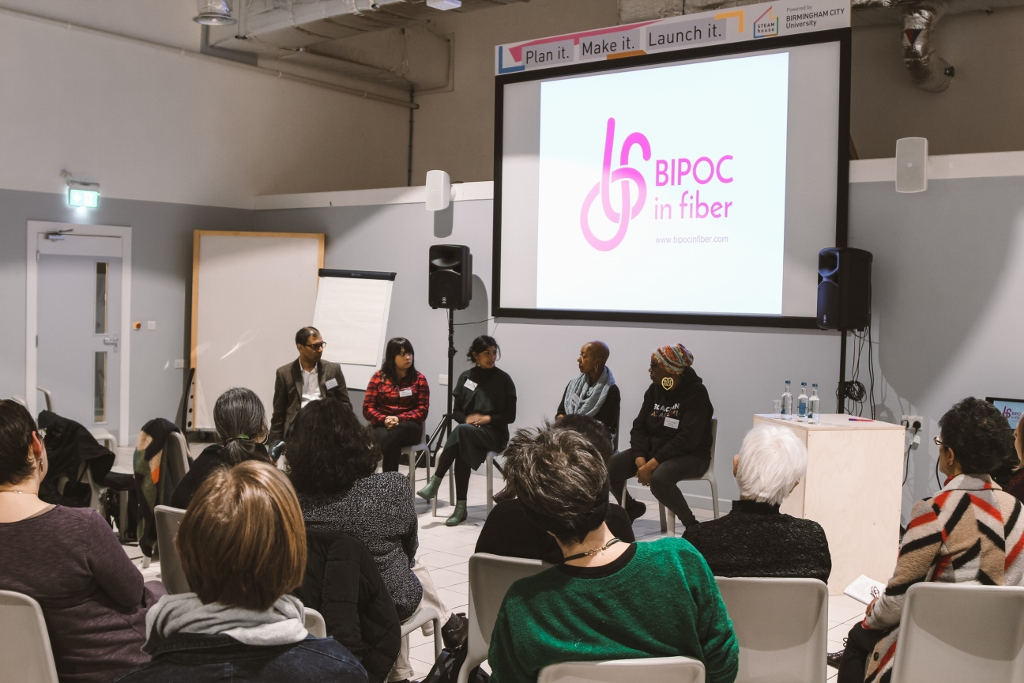 Final panel: Rajinder Dudrah, Karen Patel, Majeda Clarke, Jeanette Sloan, Lorna Hamilton-Brown.